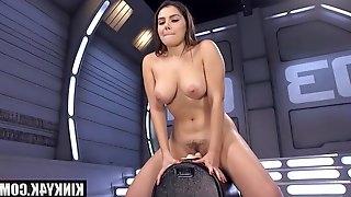 Valentina Nappi Gets Nailed By Dildo Machine