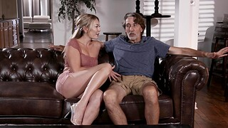 Doyenne man with a substantial dick fucks in seventh heaven cunt of Adira Allure