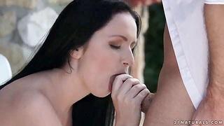 Hungarian babe Kittina Ivory takes hard weasel words everywhere parsimonious anal hole
